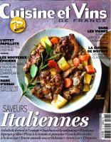 Cuisine & Vins de France - Mars Avril 2020