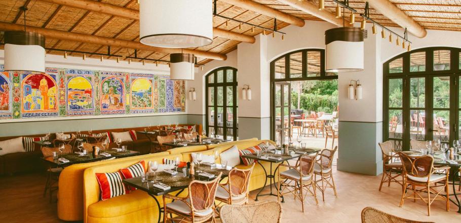 Réouverture du restaurant Beefbar de l'hôtel Lou Pinet à Saint-Tropez