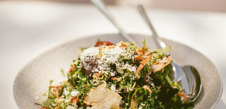 Recette : la salade de kale du Beefbar
