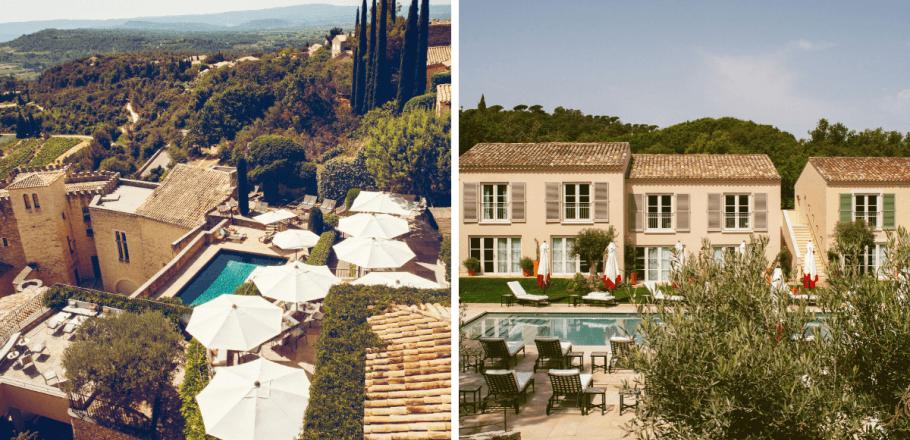 Maisons Pariente annonce la réouverture de ses hôtel Lou Pinet à Saint-Tropez et Crillon le Brave en Provence