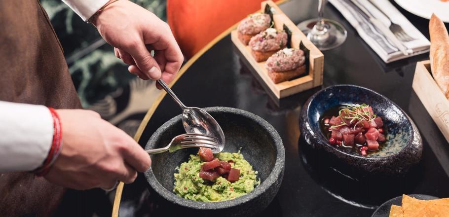 Recette: le guacamole du Beefbar Saint Tropez