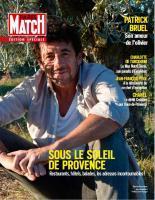 Paris Match Belgique - Edition Spéciale Eté